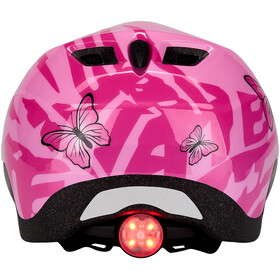 MET Elfo Fietshelm Kinderen, pink butterflies